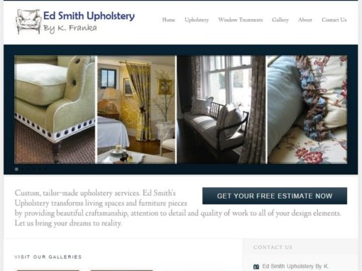 "<a href=""http://edsmithupholstery.com/"" target=""_blank"">Ed Smith Upholstery</a>"